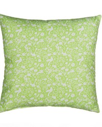 Pillow Green Print by