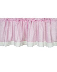 Window Valance Pink Approximately 70x23 in  by