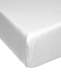 Fitted Sheet White Softee Sweet Pea by