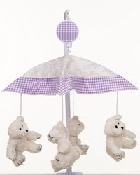 Sweet Pea Musical Mobile Plays Brahms Lullaby by