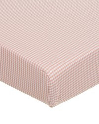 Fitted Sheet Pink gingham by