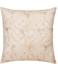 Pillow  Emb Ovrly face Pink gingham back  by
