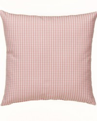 Pillow Pink gingham by