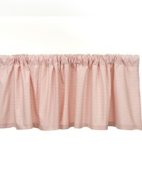 Window Valance  Pink gingham Aprox 70x18 by