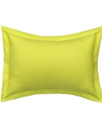 Blossom Large Sham Green Micro Dot by
