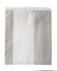 Luna Queen Skirt Wide Grey  White Stripe by