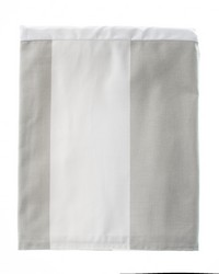Luna Twin Skirt Wide Grey  White Stripe by