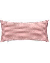 Fish Tales Rectangular Bolster Pillow Red Print by