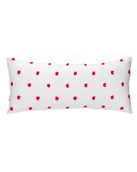 Lilly and Flo Rectangular Bolster Pillow Pink Puff by