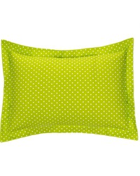 Pippin Large Sham Green Dot by