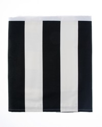 Pippin Queen Skirt Black  White Stripe by