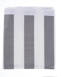 Lil Hoot Queen Skirt Grey  White Stripe by