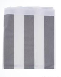 Lil Hoot Twin Skirt Grey  White Stripe by