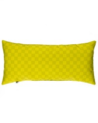 Pillow Rectangular Green Check by