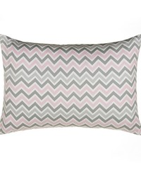 Small Sham Chevron by