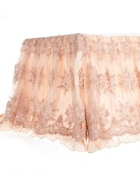 Twin Skirt Crinkle w overlay 22 in  Drop by