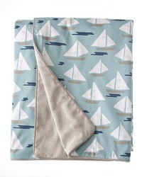 Twin Duvet Rev Boat  Sparkly Grey 62x91 in  by