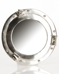 Fish Tales Porthole Mirror 12 in  by
