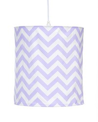 Swizzle Purple Hanging Drum Shade by