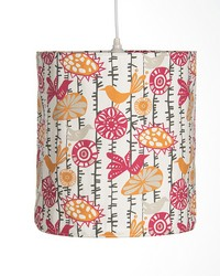 Calliope Hanging Drum Shade  by