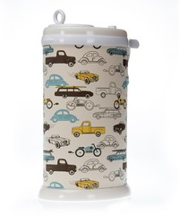 Traffic Jam Ubbi Diaper Pail Cover Cars by