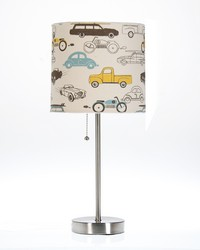 Traffic Jam Mod Table Lamp with Car Shade 18x8.5x8.5 in ; 60W by