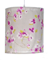 Blossom Hanging Drum Shade  by