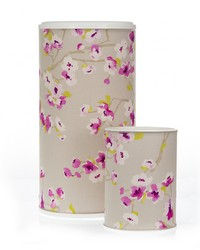 Blossom Hamper  Waste Can Set 23.5x13x13  11x8.5x8.5 Floral by