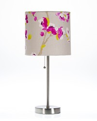 Blossom Mod Lamp  Floral Shade 19x8.5x8.5 Max 60 W Type A Floral by