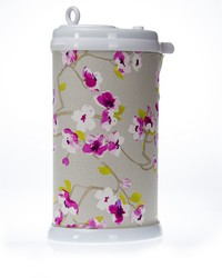 Blossom Ubbi Diaper Pail Cover Floral by