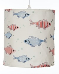 Fish Tales Hanging Drum Shade  by