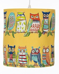 Lil Hoot Hanging Drum Shade Owl by