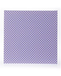 Lilly and Flo Canvas Wall Art  Purple Dot 14x14x1.5 in  Fabric Covered by