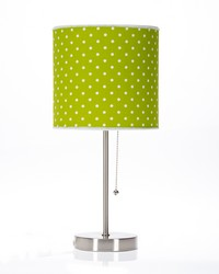 Pippin Mod Lamp with Green Dot Shade  18x8.5x8.5 in ; 60W by