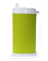 Pippin Ubbi Diaper Pail Cover Green dot by