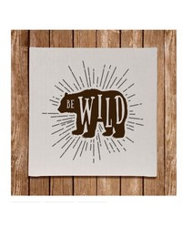 Wall Art Be Wild by