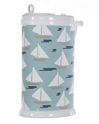 Ubbi Diaper Pail Cover Sail Boat by