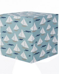 Pouf Sailboat by