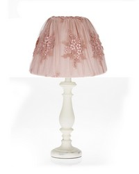Lamp  Shade Cream base w Embroidery shade by