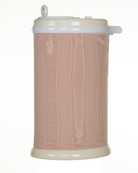 Ubbi Diaper Pail Cover Pink Pintuck by
