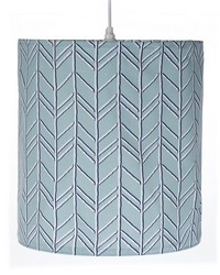 Hanging Drum Shade Blue by