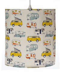 Hanging Drum Shade RV Print by