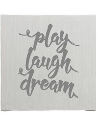 Wall Art Play  Laugh  Dream by