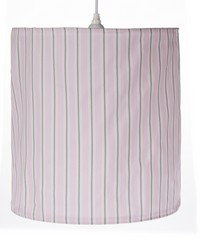 Hanging Drum Shade Stripe by