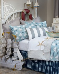 Little Sail Boat Bedding by