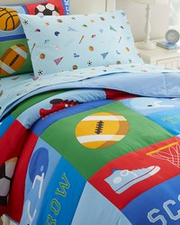 Olive Kids Game On Twin Comforter Set by