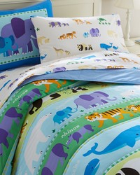 Olive Kids Endangered Animals Twin Comforter Set by