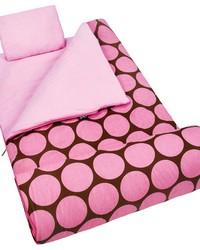 Big Dot Pink Sleeping Bag by