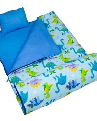 Olive Kids Dinosaur Land Original Sleeping Bag by
