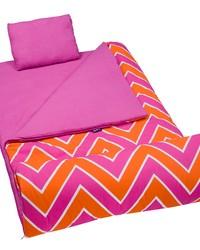 Zigzag Pink Original Sleeping Bag Pink by